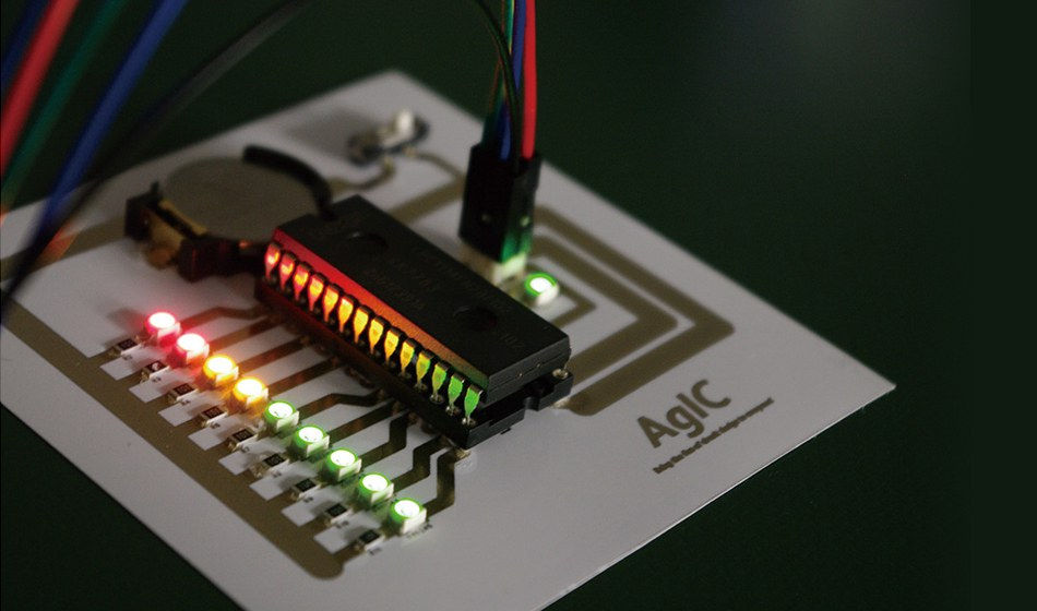 AgIC print - Silver-based Inkjet Circuit Printing and Instant Prototyping