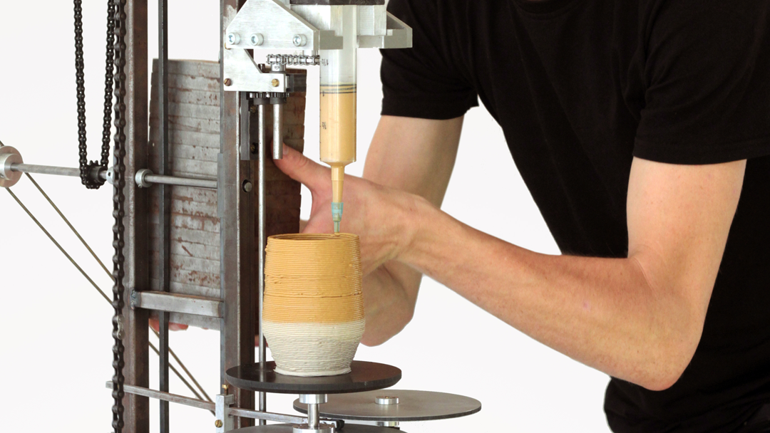 This New Technology – The World's First Analog 3D Printer