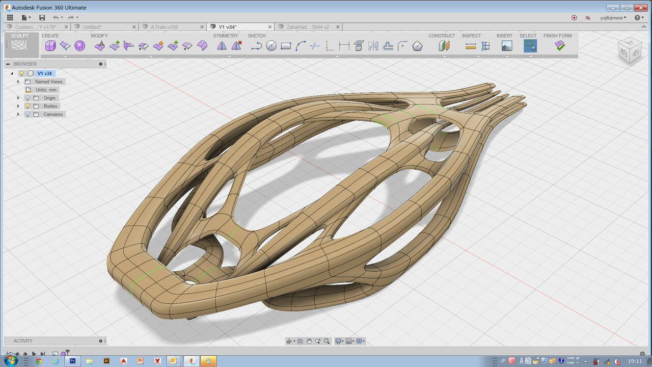 CAD(Autodesk Fusion360)