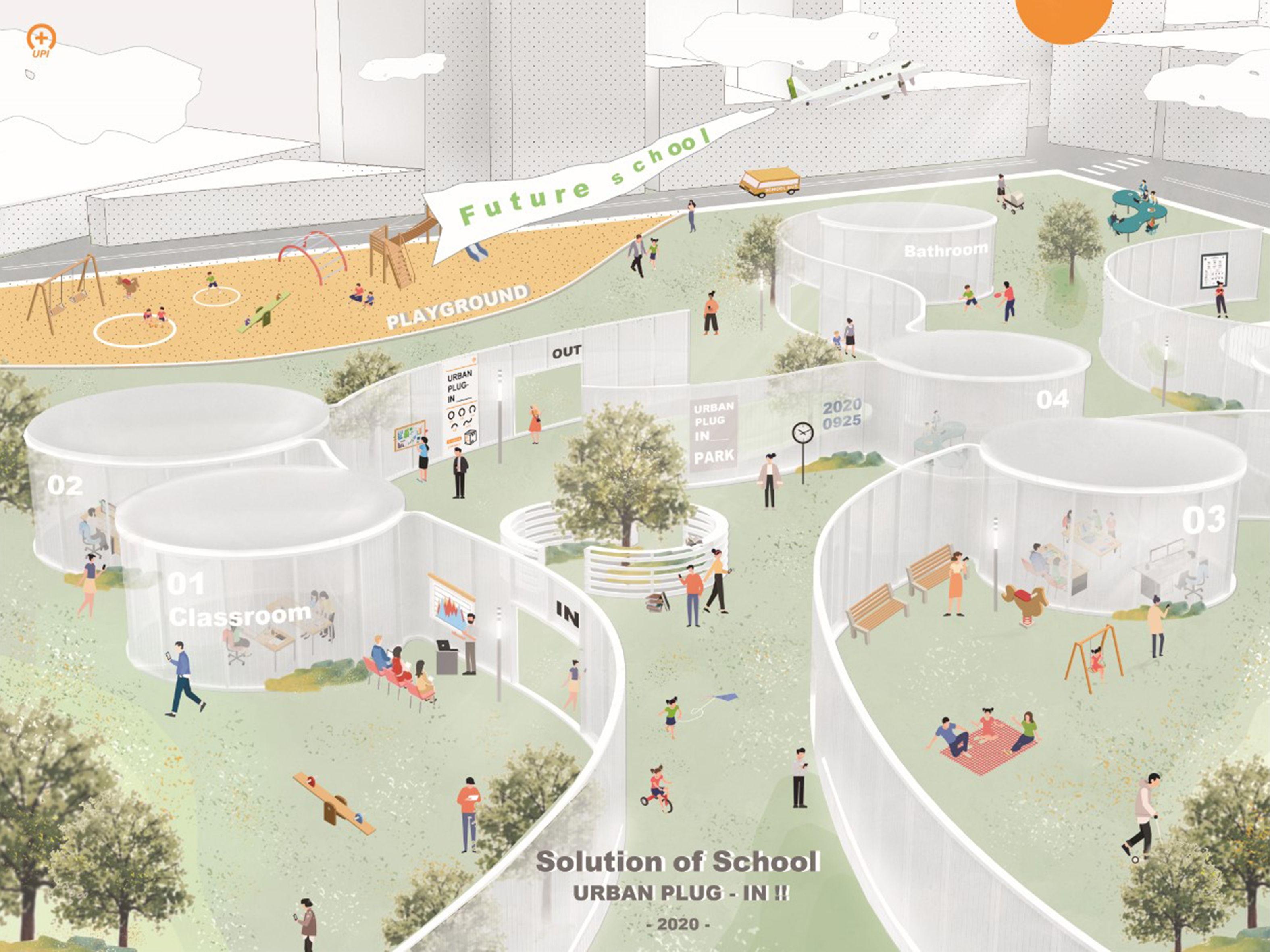 S.O.S-Solution Of School-urban plug-in!!